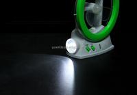 3 In 1 Electirc Fan Light Rechargeable Electric Fan With ...