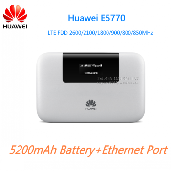 huawei e5770. original 4g lte pocket wifi router with ethernet port huawei e5770 n