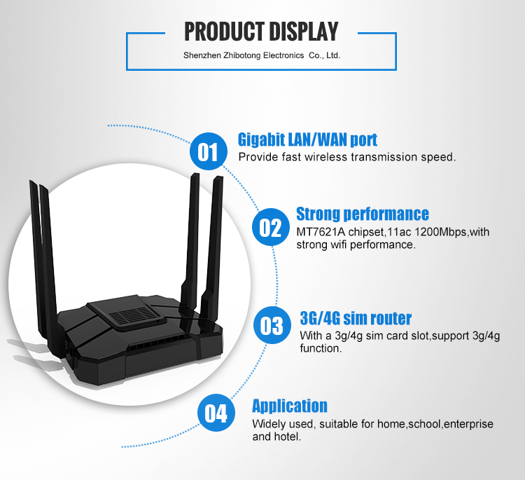 High End Dualband 1200mbps Gigabit Qualcomm Ipq4019 Chipset Openwrt  Wireless Router - Buy Qualcomm Ipq4019 Chipset Openwrt Wireless  Router,Dualband