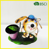 New fashion metal dog garden home decoration