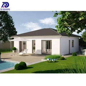 Cheap lowes 50m2 prefab house kit /modular homes
