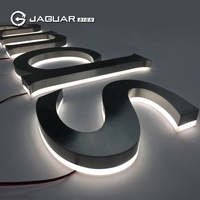 Factory Outlet Price Business Sign Lighted Metal Channel Letter