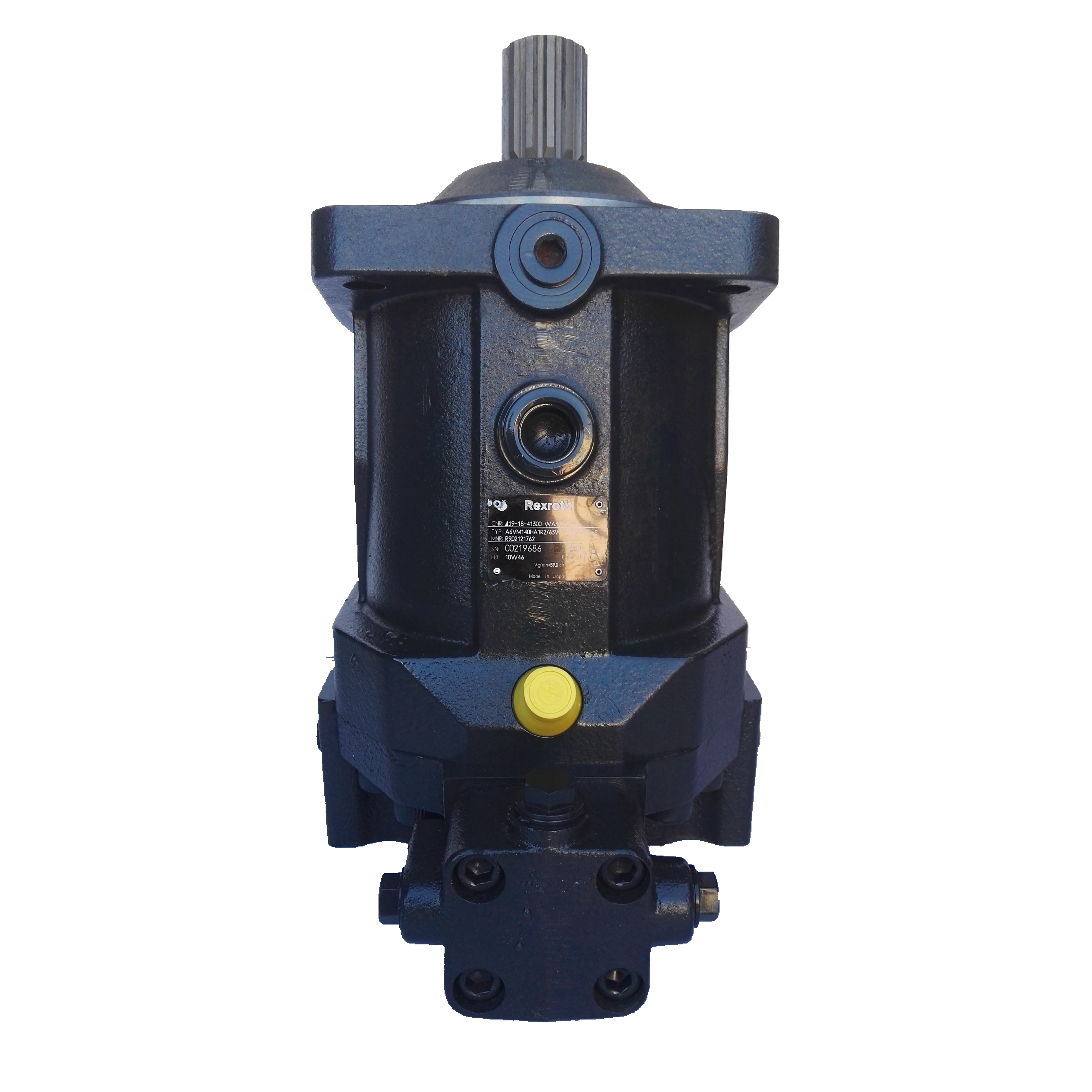 Rexroth A6VM140 Axial Plunger Variable Hydraulic Motor