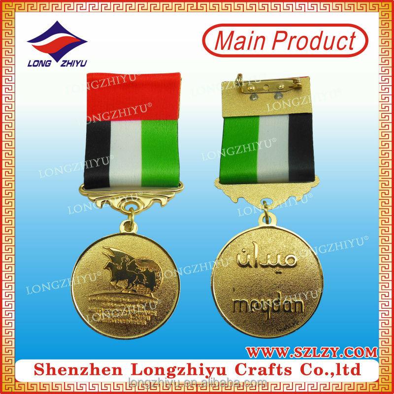 Uae Military Award Metal Medal Casting Craft With Dubai Flag Medal ...