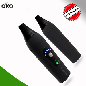 2018 Hot selling oval electronic cigarette dry herb vaporizer for smoking from OKA