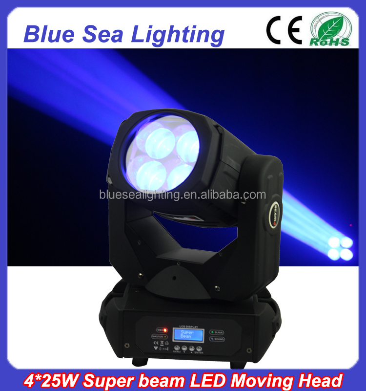 4x25w super beam led moving head eagle 900 light