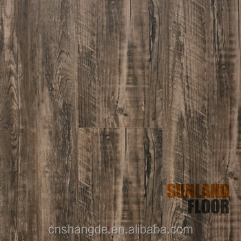 Hot Sales 2017 Easy Click Hdf Laminated Flooring With Foam Backing