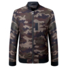 High Quality Hot Sale Quality Warm Windbreaker Camouflage men winter coat Jacket For Men