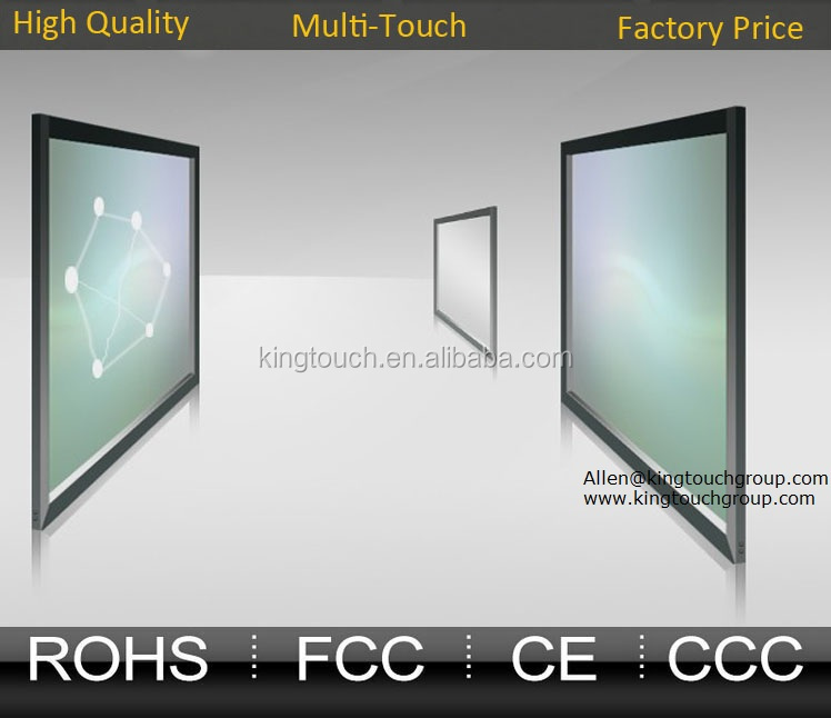 2 4 6 10 12 16 20 32 Points 21.5 To 300 inch infrared touch screen infrared touch panel IR multitouch frame multi touch overlay