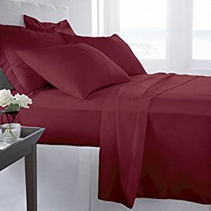 #1 Bed Sheet Set on Amazon! 1800 Thread Count Luxury Hotel Quality Bed Sheets Super Silky Soft Brushed Micro Fiber Wrinkle Free, Fade, Stain Resistant - Hypoallergenic - Deep Pockets Platinum Quality 4 Piece Sheet Sets. Top Quality Luxury Fitted & Flat Sheets, Pillowcases Available in Many Colors