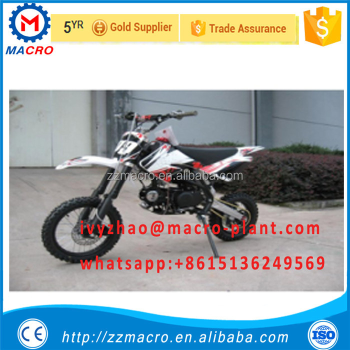 safe and good quality Chinese motorcycle mini dirt bike 125cc