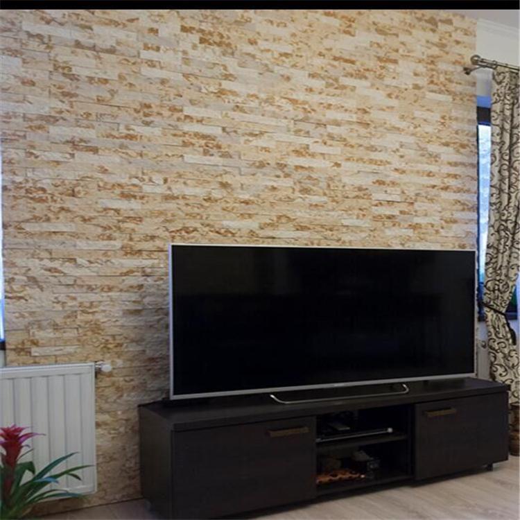 Pannelli decorativi 3d parete tappo di pietra in pietra faesite ...
