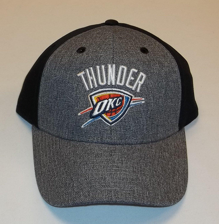 a3d1ddb93ed Get Quotations · Oklahoma City Thunder Velcro Strap NBA Hat - Adult Osfm  XZ799