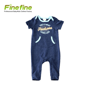 High End Quality Fashion New Pattern Customize Baby Boys Romper