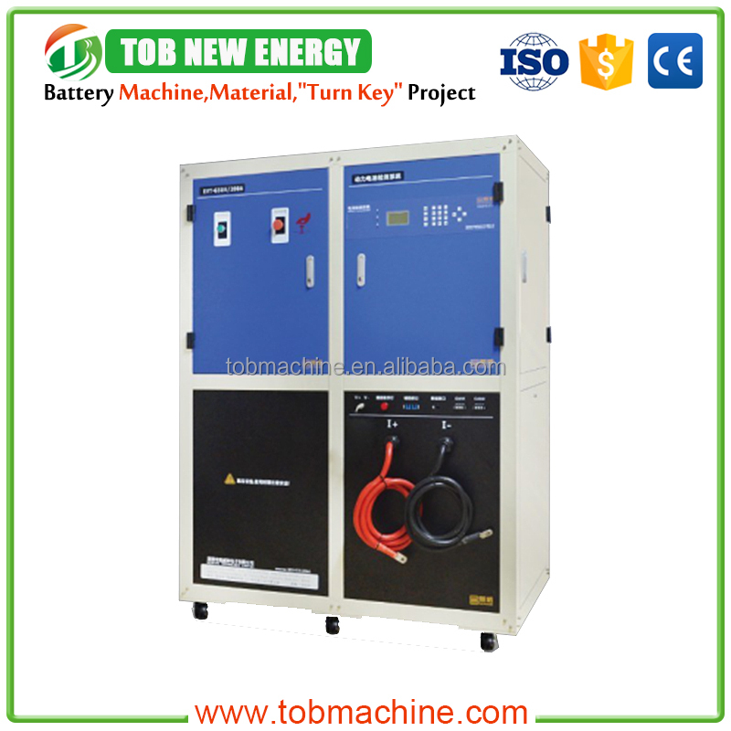 TOB-CE-7001-100V500A Battery Test Lithium Battery Tester Machine System