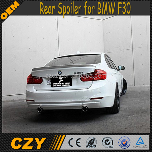 3D PU F30 Rear Boot Wing Spoiler for BMW 3 Series F30