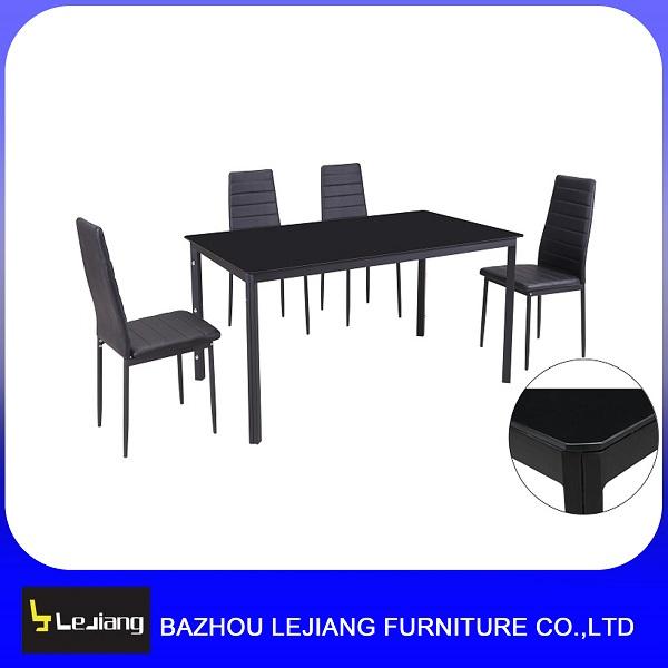 Cheap Rectangular Glass Top Metal Dining Table And 6 Chairs Set Buy Glass Top Metal Dining Table Setcheap Dining Table And 6 Chairsrectangular