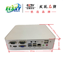 Barebone System DC 12V Power Supply Intel 1037U Dual Core 1.8GHz Mini PC with 2COM and 6USB