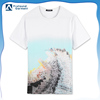 new style round neck latest white t shirt designs for men fashion clothing printing companies fabrics 100% cotton