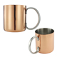 New Design customized drinking metal stainless steel creative gold personalized tin camp mugs