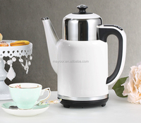 electrical gooseneck double wall water kettle