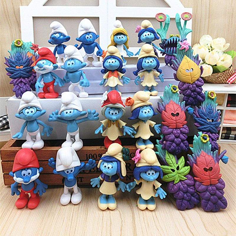 2017 New Design 24pcs/set Movie Cartoon The Lost Village Action Anime Figure