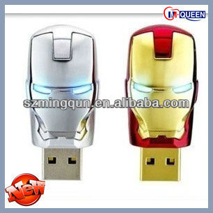 2014 NEW Funny usb drive / Iron man usb / Super hero usb