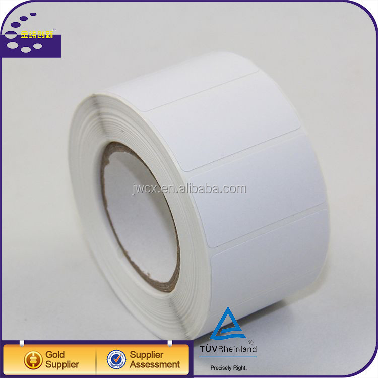 customized self-adhesive sticker blank label thermal transfer copy paper roll