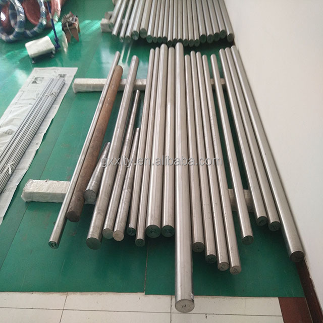 High quality medical implant ISO5832-3 h8 titanium rod cold processing