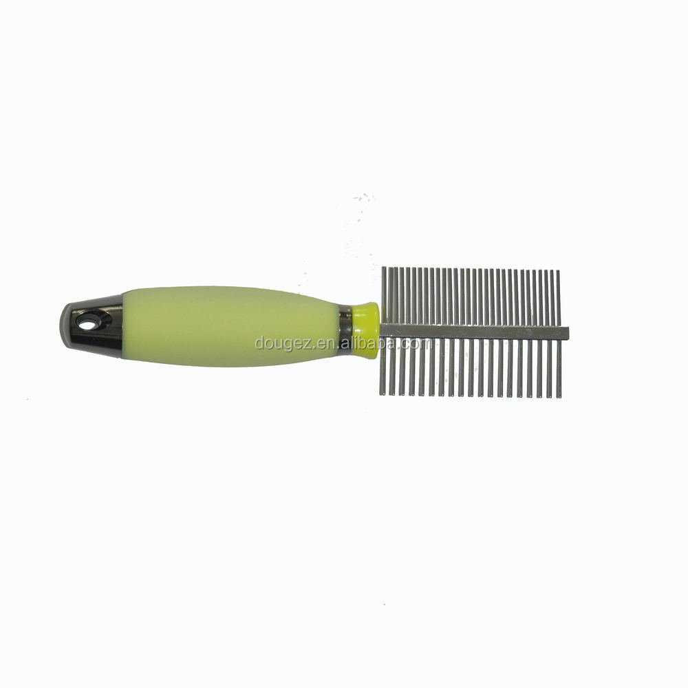 2020 high quality hot sale professional luxury perfect pet double hair comb