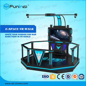 Zhuoyuan dark series HTC VIVE 9d vr standing vr game machine for shooting game