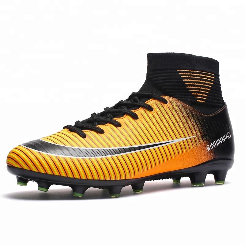 11d61eb98 الجملة عالية الجودة أفضل رخيصة جديد رجل الصينية ملعب نجيلة صناعي للعب كرة  القدم أحذية كرة