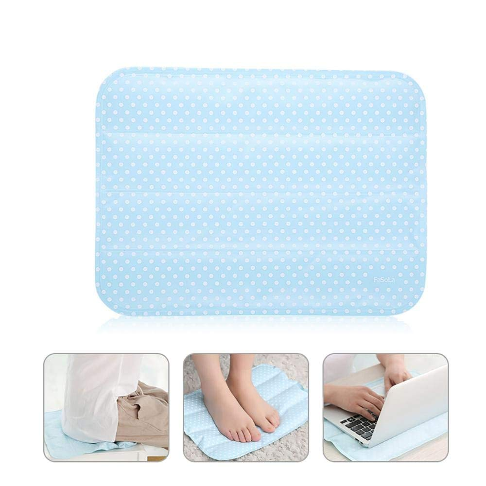 Leegoal Cooling Seat Cushion, Self Cooling Car Seat Cushion, Non-Toxic Cooling Gel Mat Pad for Foot, Office Chair, Laptop, Pillow