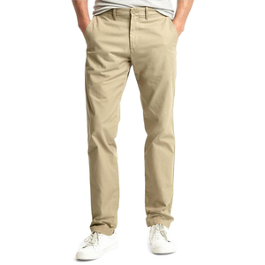 Khaki Men's Fashion Twill Pants Men's Overalls Trousers