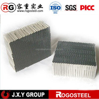 Honeycomb Core Foil Thickness 0.06mm Shielded Air Vent Filters for solar panel