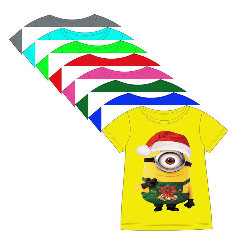 get quotations kids christmas clothes baby girls minions t shirt boys despicable me 2 t shirt children - Minion Christmas Shirt