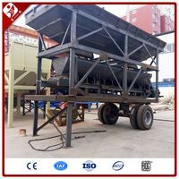Portable Soil Stabilization Plant Movable Cement Stabilized Soil Mixing Machine Equipment Mobile