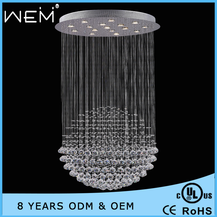 New Design high quality crystal chandelier wedding decoration crystal chandelier