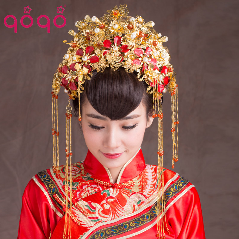 Traditional: Vintage Chinese Style Classical Jewelry Traditional Bridal