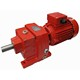 RC series Inline Shaft helical gear motors