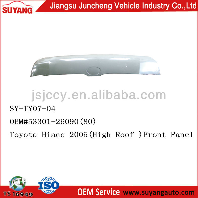 CAR REPAIRING PARTS TOYOTA HIACE 2005- ENGINE HOOD/BONNET