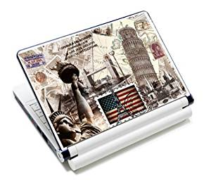 "Universal Size Laptop Notbook Decal Skin Sticker Protector Laptop Skin For 7"" 8.9"" 10"" 10.1"" 10.2"" Laptop Notebook,Includes 2 Wrist Pads, History in the bag"