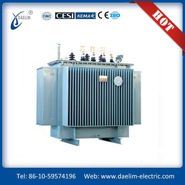 High quality 33kv Oil Immersed power substation distribution transformer