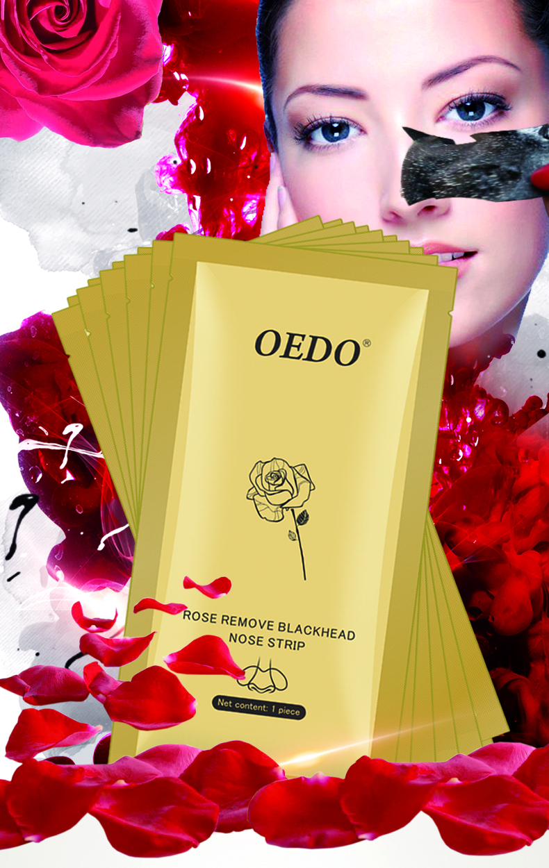 OEDO Skin Care Blackhead Remover Acne Treatment Deep Cleansing Nose Strip Purifying Peel Off Nose Patch