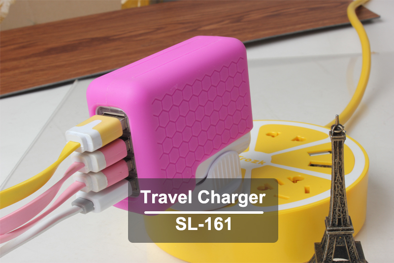 Smart 4 USB Charger Return Gifts Wholesale Gift Itemshappy Birthday Ideas For