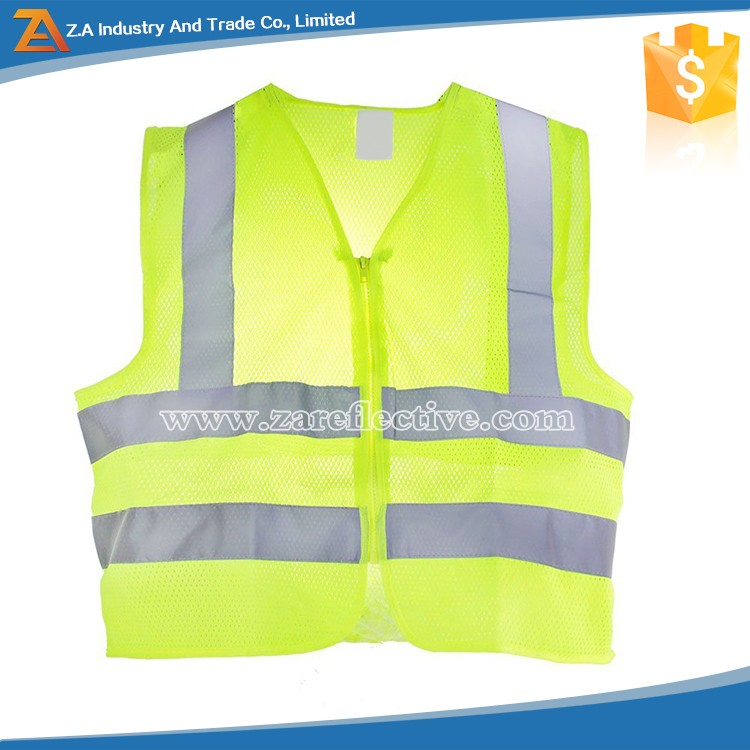 Custom Logo Best Quality High Vis Polyester Reflective Safety Clothing /Reflex Vest