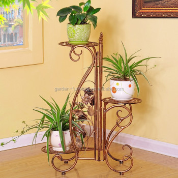 Metal Plant Holder Wrought Iron Plant Stands Flower Holder For Home