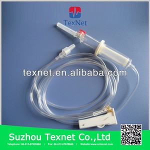 China hot sale good quality CE ISO approved disposable blood transfusion set