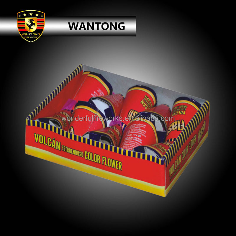 Volcan colour thunder flower wholesale firecracker kid toy fireworks
