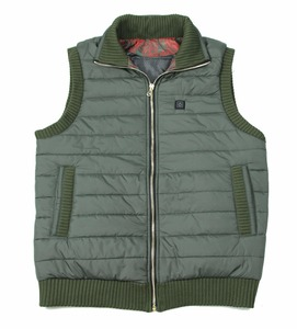 Hot sale hunting vest style warm winter custom safety vest sleeveless down mens heated vest